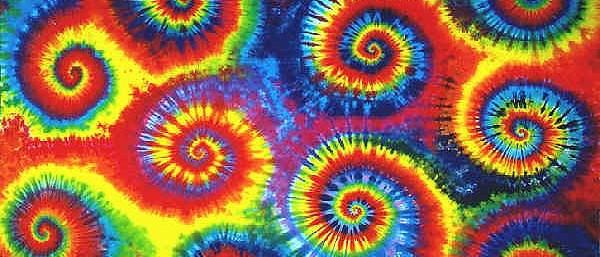 tie-dye swirl tie dyes dyed tie-dyes